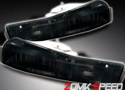 Headlights & Tail Lights - Corner Lights - Custom - Smoke Bumper Lights