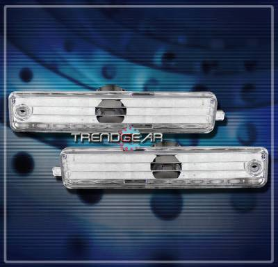 Headlights & Tail Lights - Corner Lights - Custom - Chrome Front Side Marker Lights