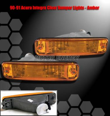 Headlights & Tail Lights - Corner Lights - Custom - JDM Amber Bumper Lights