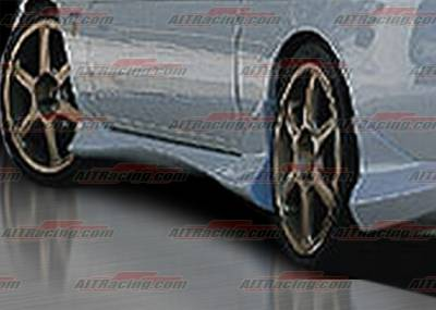 SC - Side Skirts - AIT Racing - Lexus SC AIT Racing Delux Style Side Skirts - LSC92HIDLSSS