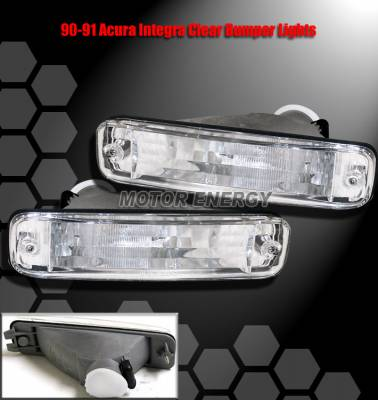 Headlights & Tail Lights - Corner Lights - Custom - JDM Clear Bumper Lights