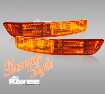 Headlights & Tail Lights - Corner Lights - Custom - Euro Amber Bumper Lights