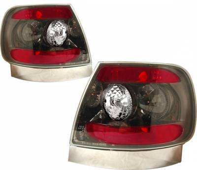 Headlights & Tail Lights - Tail Lights - 4 Car Option - Audi A4 4 Car Option Altezza Taillights - Gunmetal - LT-A496G-YD