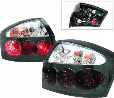 Headlights & Tail Lights - Tail Lights - 4 Car Option - Audi A4 4 Car Option Taillights - Smoke & Clear - LT-AA402SMC