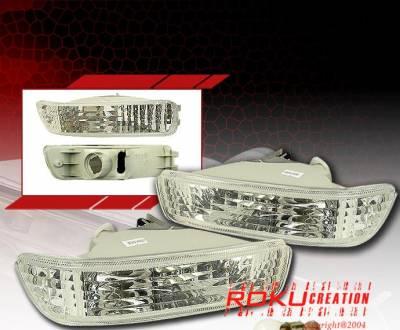 Headlights & Tail Lights - Corner Lights - Custom - JDM Clear Bumper Lights