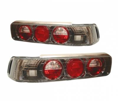 Headlights & Tail Lights - Tail Lights - 4 Car Option - Acura Integra 2DR 4 Car Option Altezza Taillights - Gunmetal - LT-Ai902G-YD