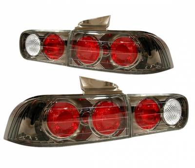4 Car Option - Acura Integra 4DR 4 Car Option Altezza Taillights - Gunmetal - LT-AI944G-YD