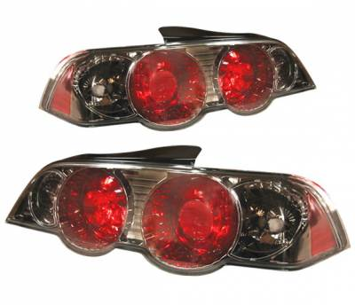 Headlights & Tail Lights - Tail Lights - 4 Car Option - Acura RSX 4 Car Option Altezza Taillights - Gunmetal - LT-AR02G-YD