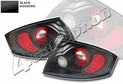 Headlights & Tail Lights - Tail Lights - 4 Car Option - Audi TT 4 Car Option Altezza Taillights - Black - LT-ATT99JB-YD