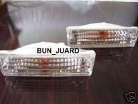 Headlights & Tail Lights - Corner Lights - Custom - Crystal Front Bumper Lights