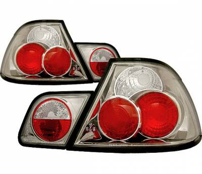 Headlights & Tail Lights - Tail Lights - 4 Car Option - BMW 3 Series 2DR 4 Car Option Altezza Taillights - Black - LT-B462JB-YD