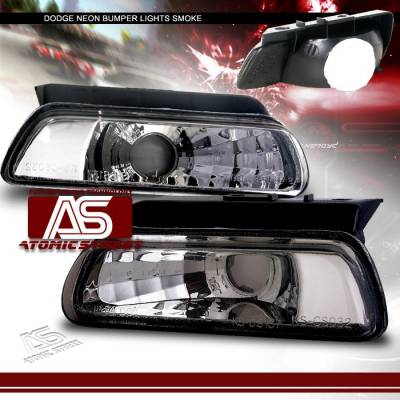 Headlights & Tail Lights - Corner Lights - Custom - Smoke Bumper Lights