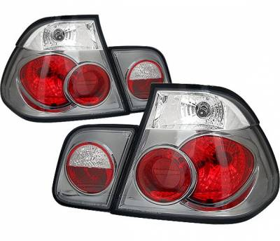 Headlights & Tail Lights - Tail Lights - 4 Car Option - BMW 3 Series 4DR 4 Car Option Altezza Taillights - Black - LT-B464JB-YD