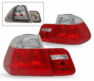 4CarOption - BMW 3 Series 4CarOption Euro Taillights - LT-B464-KS-4P