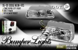 Headlights & Tail Lights - Corner Lights - Custom - Euro Diamond Bumper Lights