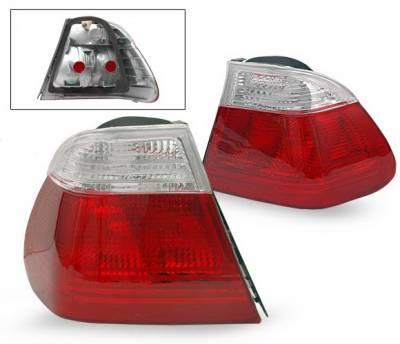 Headlights & Tail Lights - Led Tail Lights - 4CarOption - BMW 3 Series 4CarOption Taillights - LT-B464RC-YD