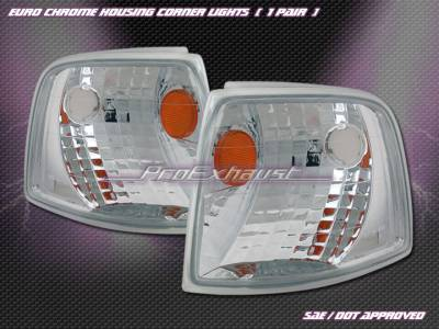 Headlights & Tail Lights - Corner Lights - Custom - Euro Chrome Corner Lights