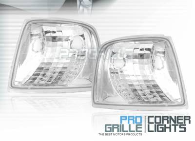 Headlights & Tail Lights - Corner Lights - Custom - Crystal Clear Corner Lights