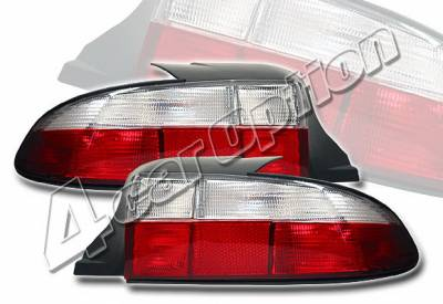 Headlights & Tail Lights - Tail Lights - 4 Car Option - BMW Z3 4 Car Option Euro Taillights - Red & Clear - LT-BZ3-KS