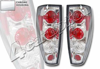 Headlights & Tail Lights - Tail Lights - 4 Car Option - Chevrolet Colorado 4 Car Option Altezza Taillights - Chrome - LT-CCODO04A-YD
