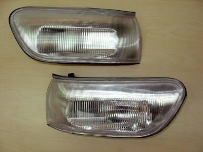 Headlights & Tail Lights - Corner Lights - Custom - Clear Signal Lights