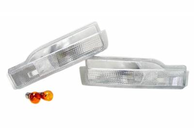 Headlights & Tail Lights - Corner Lights - Custom - Clear Front Signal Lights