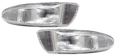 Headlights & Tail Lights - Corner Lights - Custom - Clear Side/Front Bumper Lights