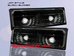 Headlights & Tail Lights - Corner Lights - Custom - Euro Black Bumper Lights