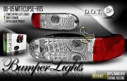 Headlights & Tail Lights - Corner Lights - Custom - Chrome Bumper Lights