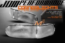 Headlights & Tail Lights - Corner Lights - Custom - Chrome Rear Bumper Lights