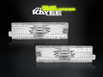Headlights & Tail Lights - Corner Lights - Custom - Euro Clear Side Marker Lights