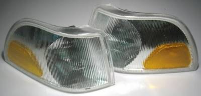 Headlights & Tail Lights - Corner Lights - Custom - Clear Corner Lights