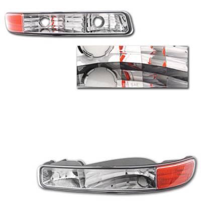 Headlights & Tail Lights - Corner Lights - Custom - Chrome Corner Lights