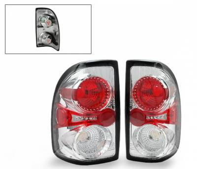 Headlights & Tail Lights - Led Tail Lights - 4CarOption - Dodge Dakota 4CarOption Altezza Taillights - LT-DD97A-YD