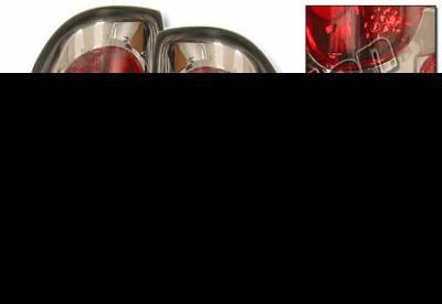 Headlights & Tail Lights - Tail Lights - 4 Car Option - Dodge Dakota 4 Car Option Altezza Taillights - Gunmetal - LT-DD97G-KS
