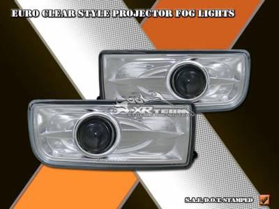 Headlights & Tail Lights - Fog Lights - Custom - Euro Clear Style Projector Fog Lights