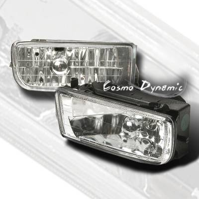 Headlights & Tail Lights - Fog Lights - Custom - Euro Clear OEM Fog Lights