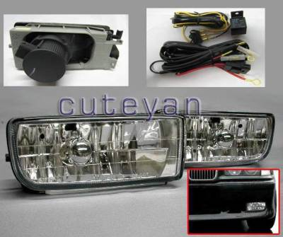 Headlights & Tail Lights - Fog Lights - Custom - Euro Fog Lights
