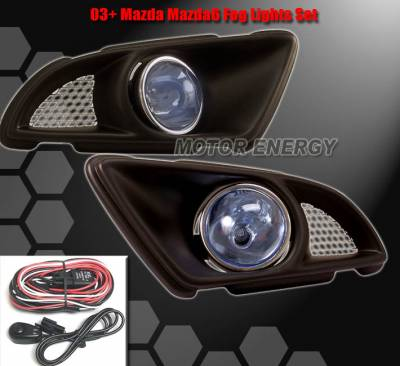 Headlights & Tail Lights - Fog Lights - Custom - Blue Fog Lights