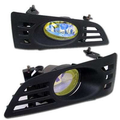Headlights & Tail Lights - Fog Lights - Custom - Yellow Euro Fog Lights