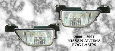 Headlights & Tail Lights - Fog Lights - Custom - Clear Fog Lights