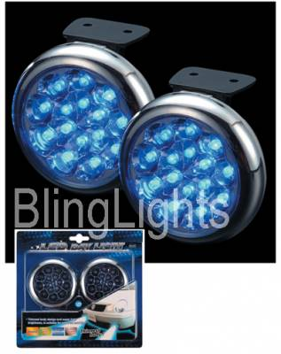 Headlights & Tail Lights - Fog Lights - Custom - Blue LED Fog Lights