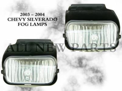 Headlights & Tail Lights - Fog Lights - Custom - Clear Fog Lights
