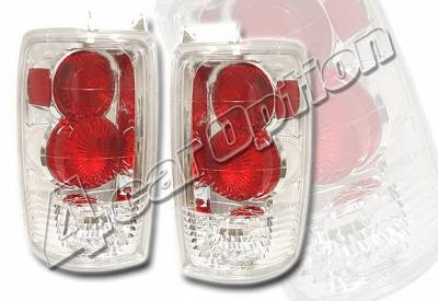 Headlights & Tail Lights - Tail Lights - 4 Car Option - Ford Expedition 4 Car Option Altezza Taillights - Chrome - LT-FE97A-YD