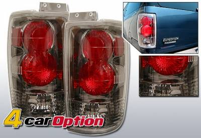 Headlights & Tail Lights - Tail Lights - 4 Car Option - Ford Expedition 4 Car Option Altezza Taillights - Gunmetal - LT-FE97G-YD