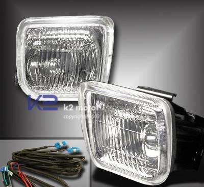 Headlights & Tail Lights - Fog Lights - Custom - Crystal Fog Lights