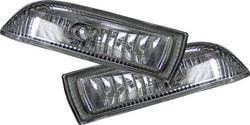 Headlights & Tail Lights - Fog Lights - Custom - JDM Clear Fog Lights