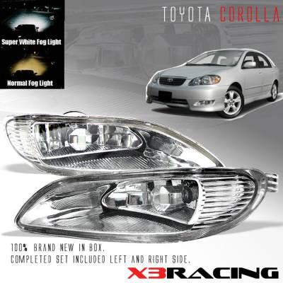 Headlights & Tail Lights - Fog Lights - Custom - Euro Clear Fog Lights