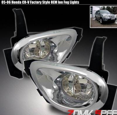 Headlights & Tail Lights - Fog Lights - Custom - Clear Ion Fog Lights