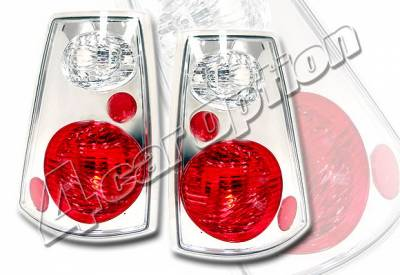 Headlights & Tail Lights - Tail Lights - 4 Car Option - Ford Explorer 4 Car Option Altezza Taillights - Chrome - LT-FER02TA-KS